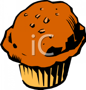 Bran Muffin Clip Art Royalty Free Clipart Illustration Muffin Clipart Royalty Free Clipart Choc Chip Muffins