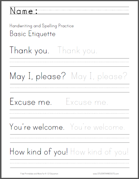 Printables Handwriting Practice Worksheets 1000 images about school handwriting worksheets on pinterest cursive practice and spelling worksheets