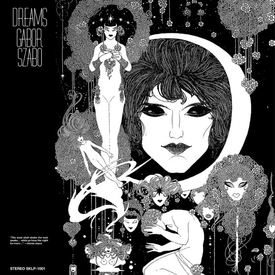 Gabor Szabo Dreams 180gr Vinyl Gatefold Sleeve Blue Sounds In 2020 Album Art Iconic Album Covers Sound Art