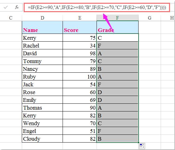 doc calculate letter grade 1 | vansh | pinterest | grade 1