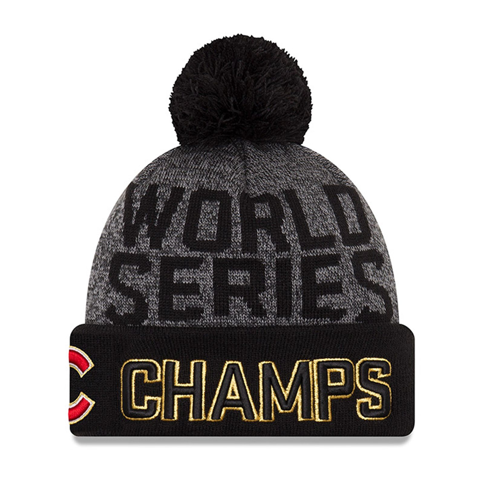 Chicago Cubs World Series Champion Parade Day Knit Hat  d936e11c1ed