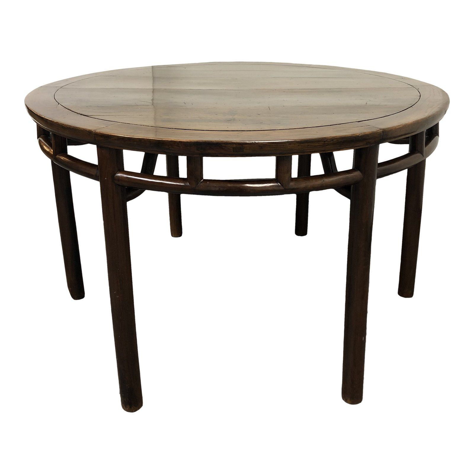 19th Century Chinese Jumu Elm Round Table Chairish Dining Table Table Coffee Table [ 1600 x 1600 Pixel ]