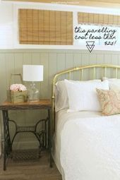 How to add vertical shiplap panels in a simple and inexpensive way ...#add #inex...,  #add #basementbedroomssimple #inex #Inexpensive #Panels #Shiplap #Simple #Vertical