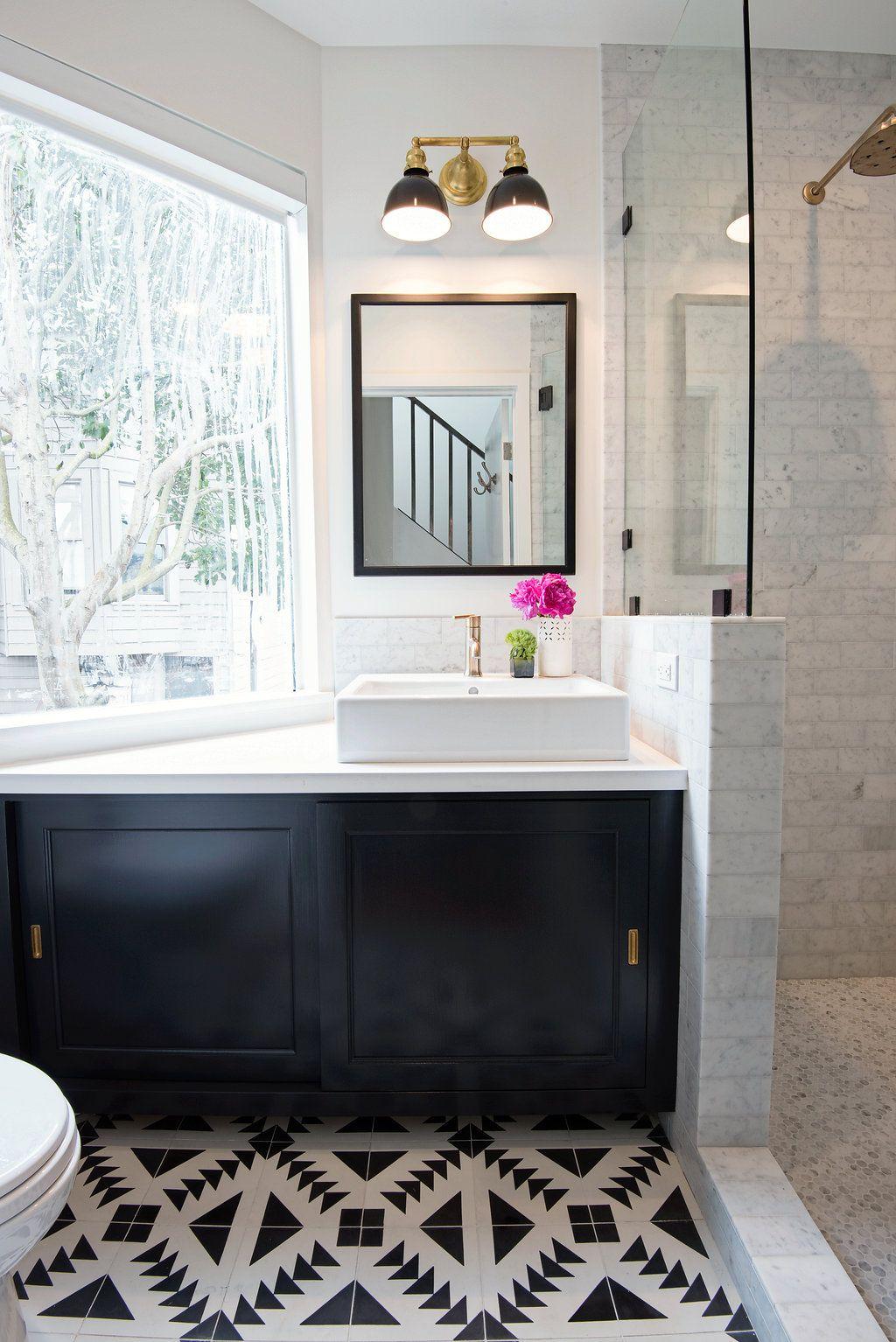 A San Francisco Condo is Given New Life   Rue   bathroom   Pinterest ...
