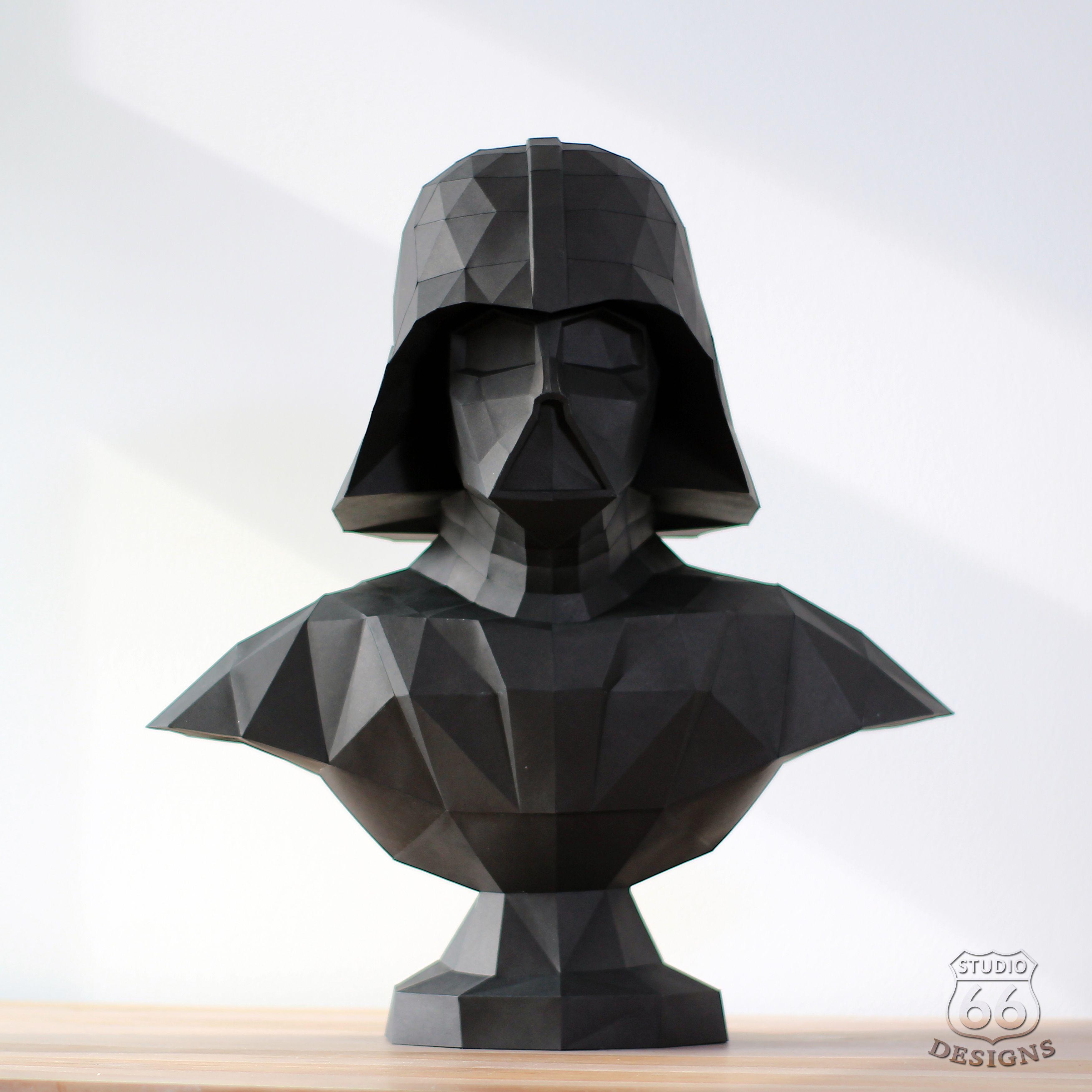 Darth Vader Papercraft Posted On Reddit R StarWars