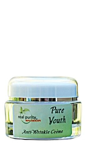 Pure Youth Advanced Anti-Wrinkle Creme - Real Purity has developed and formulated this product with Power Packed ingredients, that will leave your face tightened and toned, with a youthful and revitalized appearance! www.realpurity.com