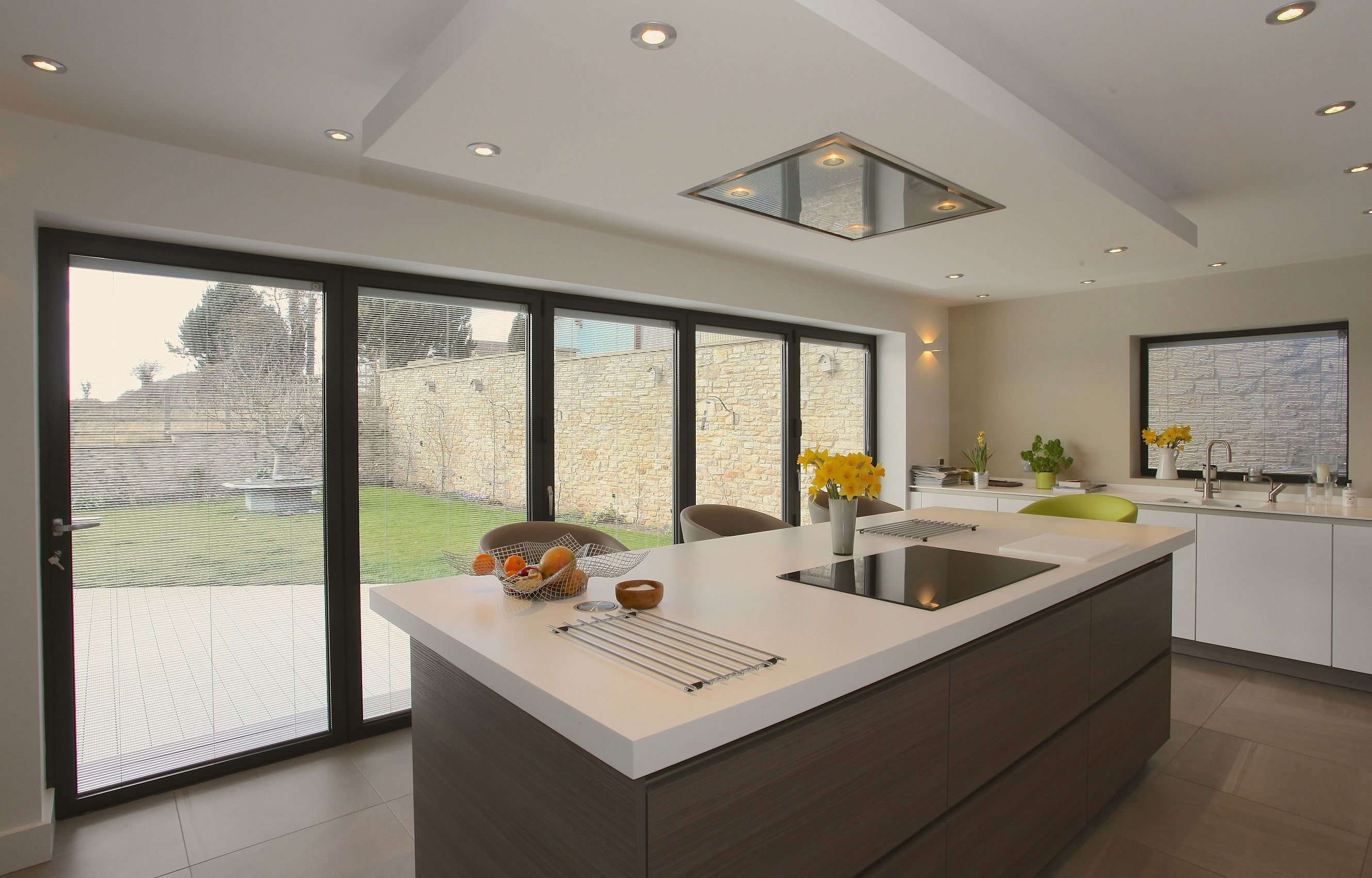 Bi-fold doors for kitchen extensions | Bi folding doors ...