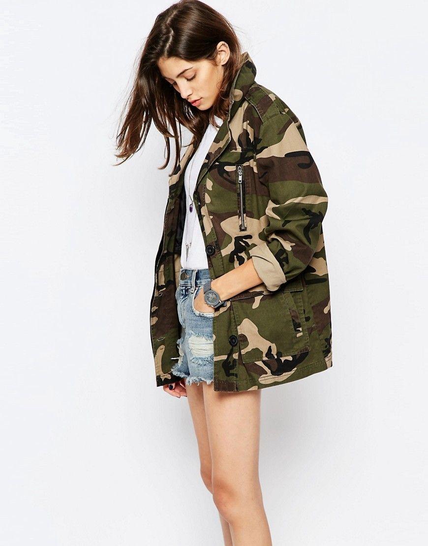 Fall Wardrobe Staple The Military Jacket The Golden Girl Asos Jackets Fashion Jackets [ 1110 x 870 Pixel ]