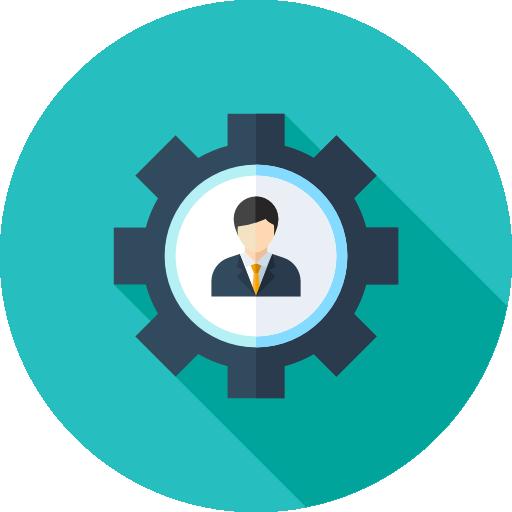Image Result For Human Resources Flat Icon Teamwork Logo Flat Icon Messenger Logo