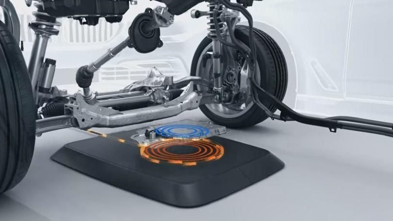 Bmw develops pad to wirelessly charge electric cars