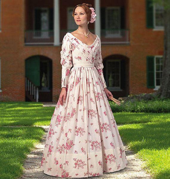 Diy Sewing Pattern Butterick 5832 Civil War by ErikasChiquis, $6.00 ...