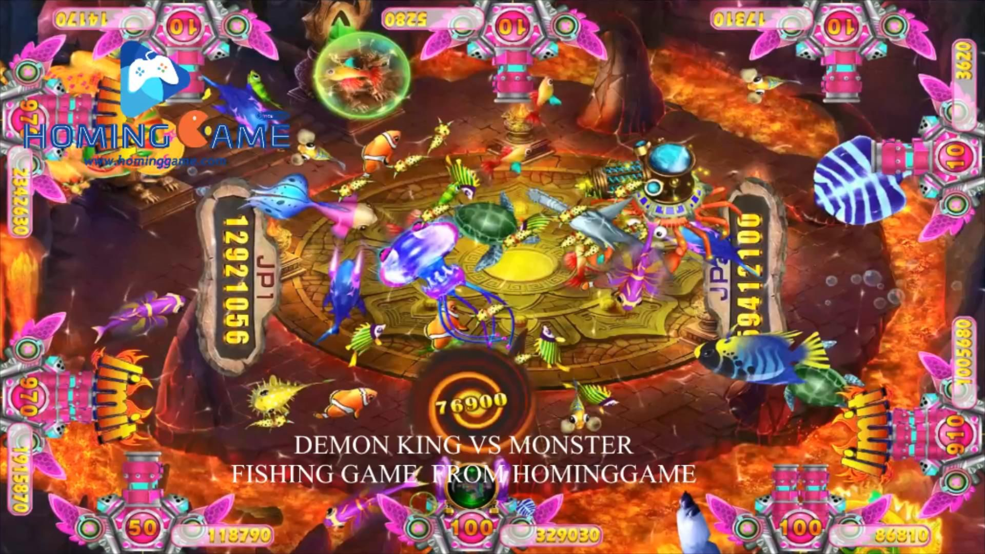 Pin By Jin Hominggame On Hominggame Best Fishing Game Manufacturer In The World Fishing Game Arcade Game Machines Amusement Park Games