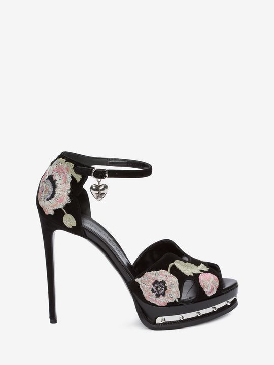14c6a94bdeb3 Shop Women s Metal Platform Sandal from the official online store of iconic  fashion designer Alexander McQueen