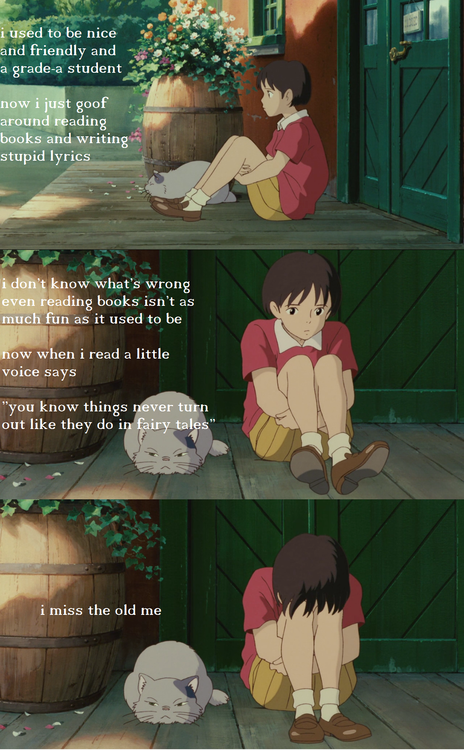 Whisper Of The Heart W O N D E R Pinterest Studio Ghibli