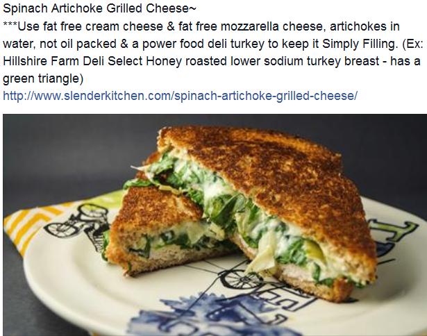 http://www.slenderkitchen.com/spinach-artichoke-grilled-cheese/