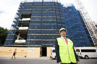 UTS: ONE DOWN, 319,999 TO GO: DR CHAU BUILDING'S BRICK FAÇADE TAKES SHAPE - Facilities Management