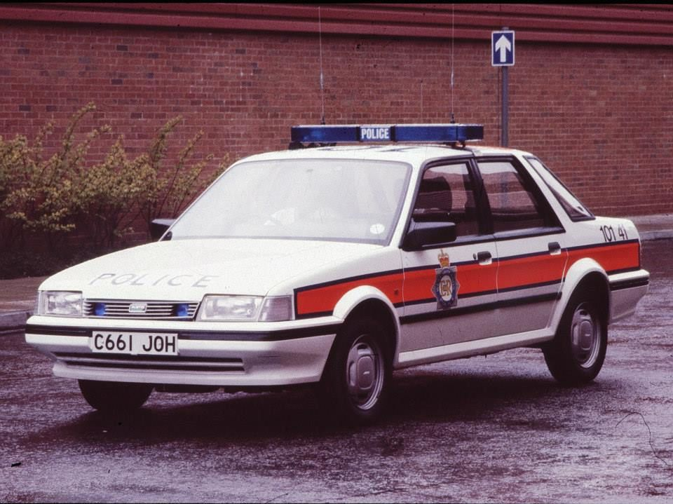 Photos Of West Midlands Police Cars From The 1980S (With