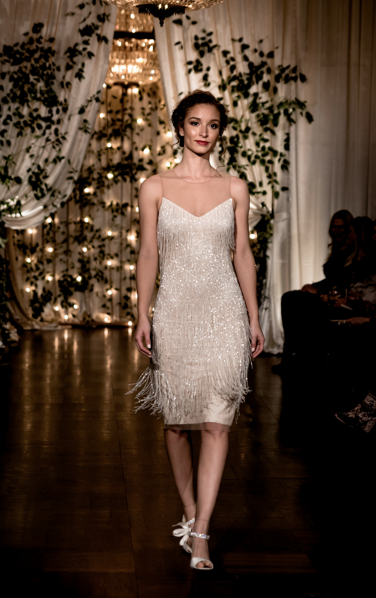 Jenny Yoo Collection, the Reagan dress features delicate