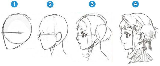 Flyingcookies Como Dibujar Animes Como Dibujar Manga Caras Anime