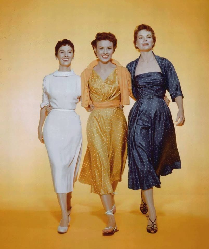 Looking Back Actress Maggie Mcnamara >> Maggie Mcnamara Jean Peters Dorothy Mcguire Three Coins In The