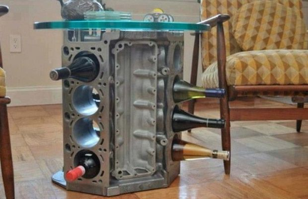 Furniture Made From Car Parts