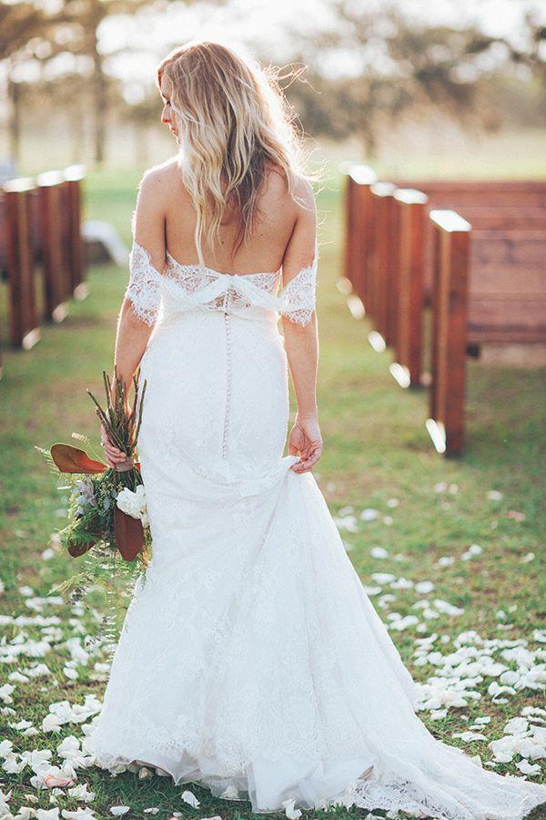 Brooksville Florida Wedding | Lace wedding dresses, Lace wedding and ...