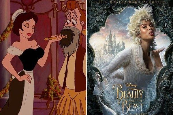 Plumette (Gugu Mbatha-Raw) | Disney beauty, the beast ...