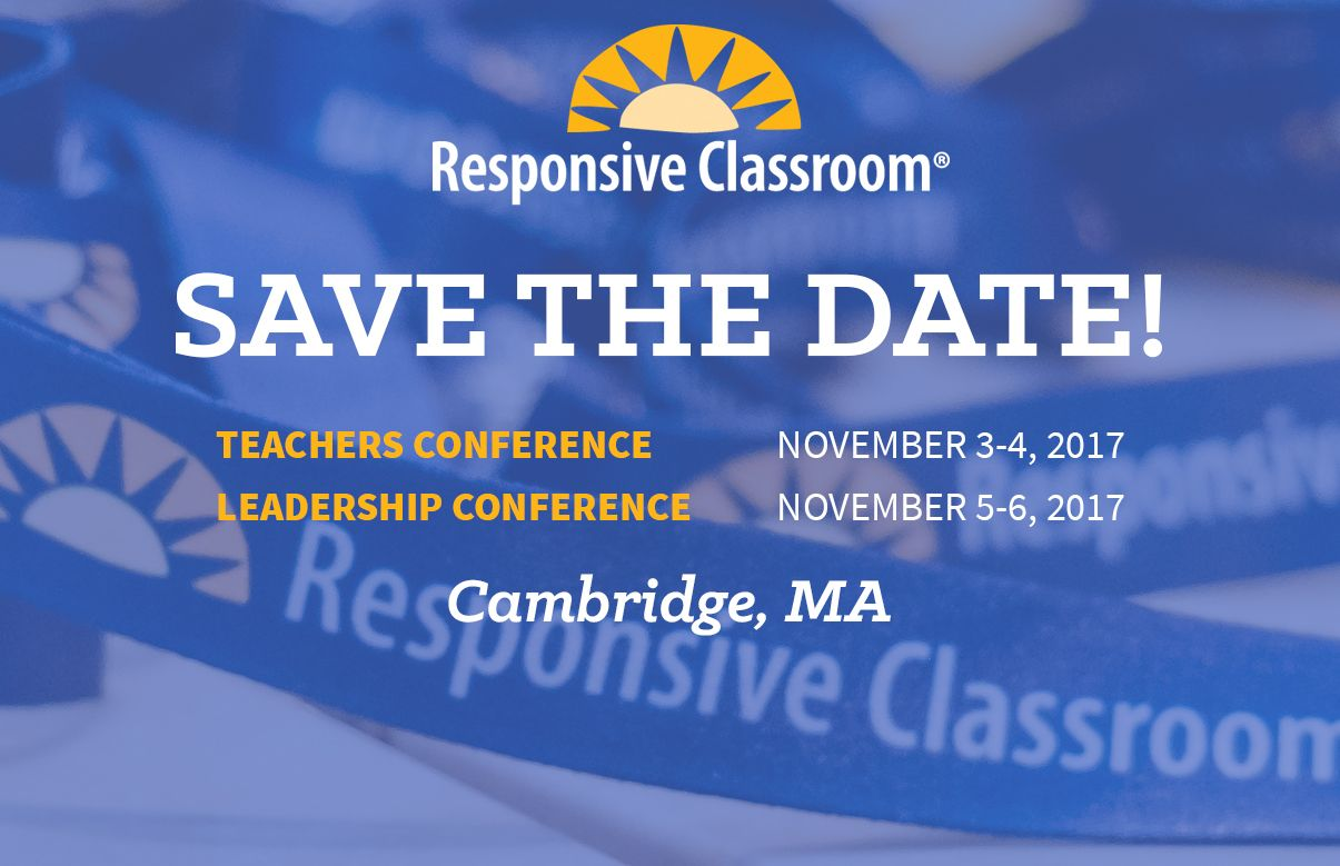 Save the date for RCLC and RCTC 2017! We can't wait for you