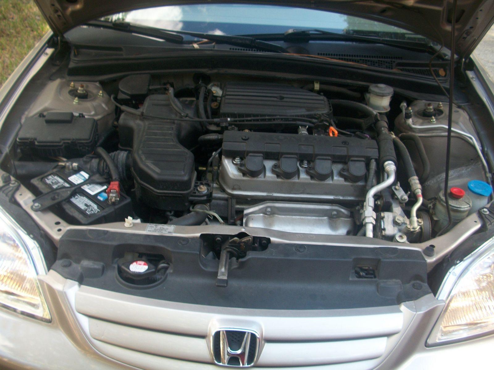 2002 Honda Civic Gas Engine 2.0L (DX, EX, GX, HX,