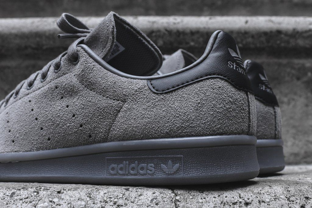 Add This Grey Suede Stan Smith To Your Fall Rotation • KicksOnFire ...