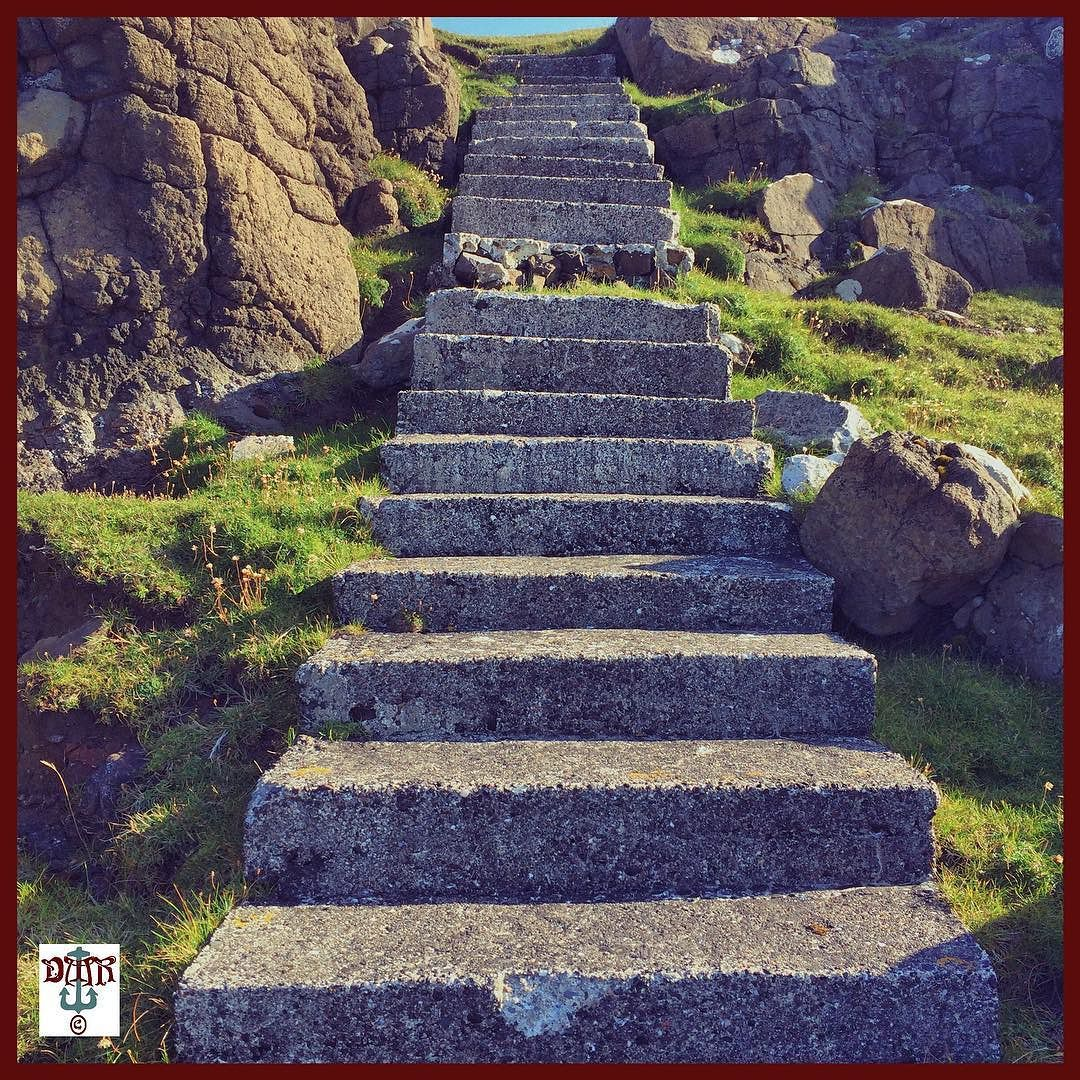 #seaside #steps #waternish Photos from my travels