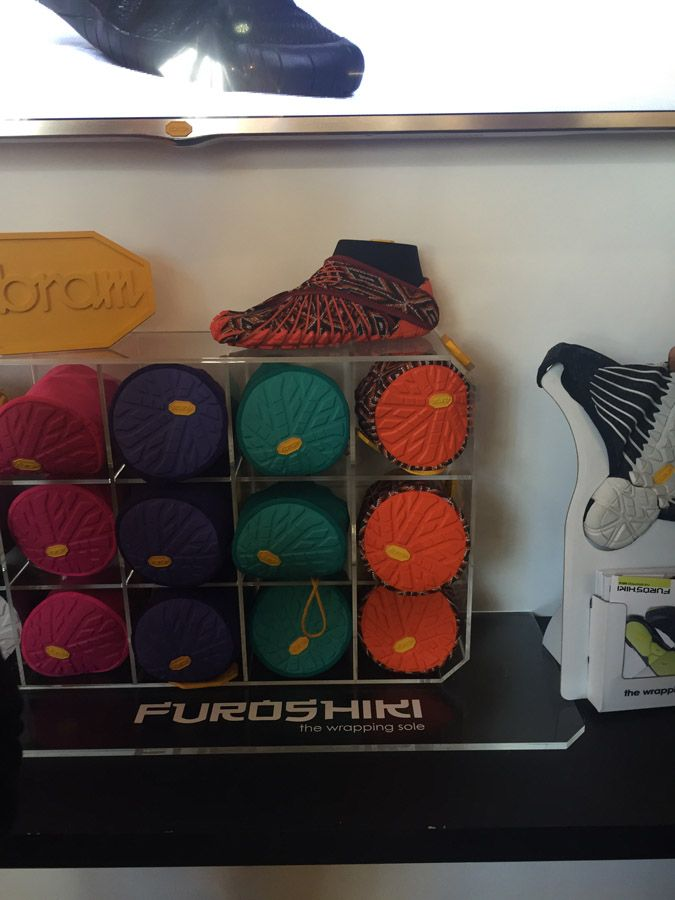 PITTI 87: VIBRAM FUROSHIKI. THE WRAPPING SOLE. - Wait! FashionWait! Fashion