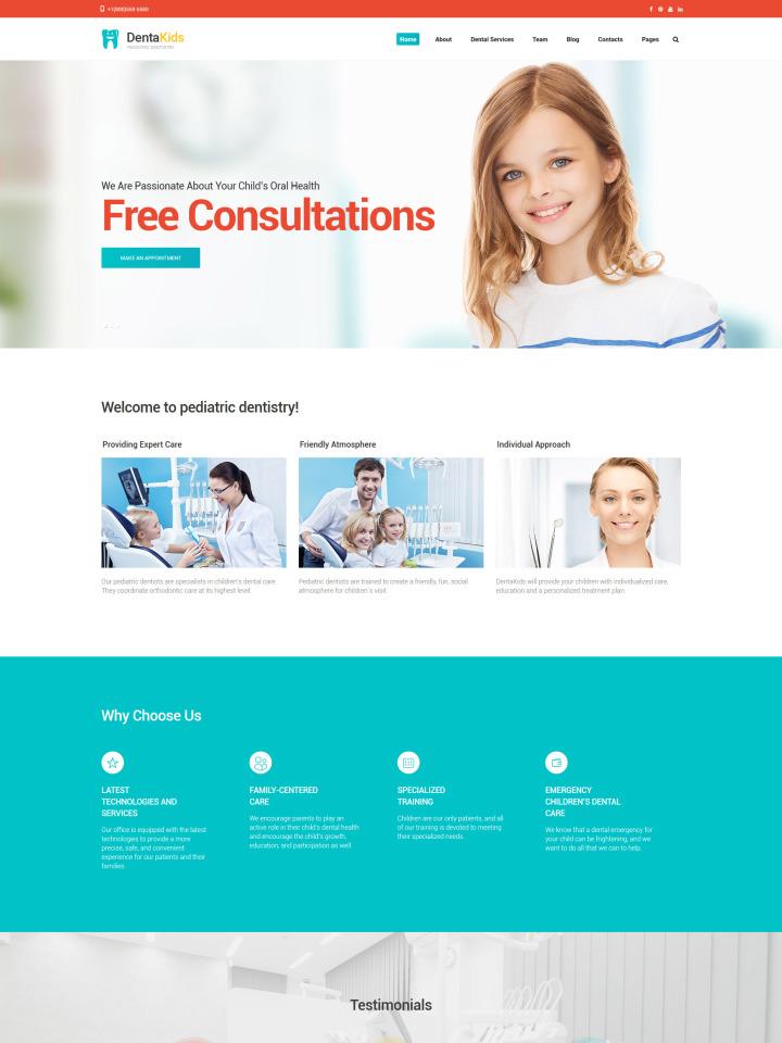 Medical Website Templates Web Design Lead Gen Family