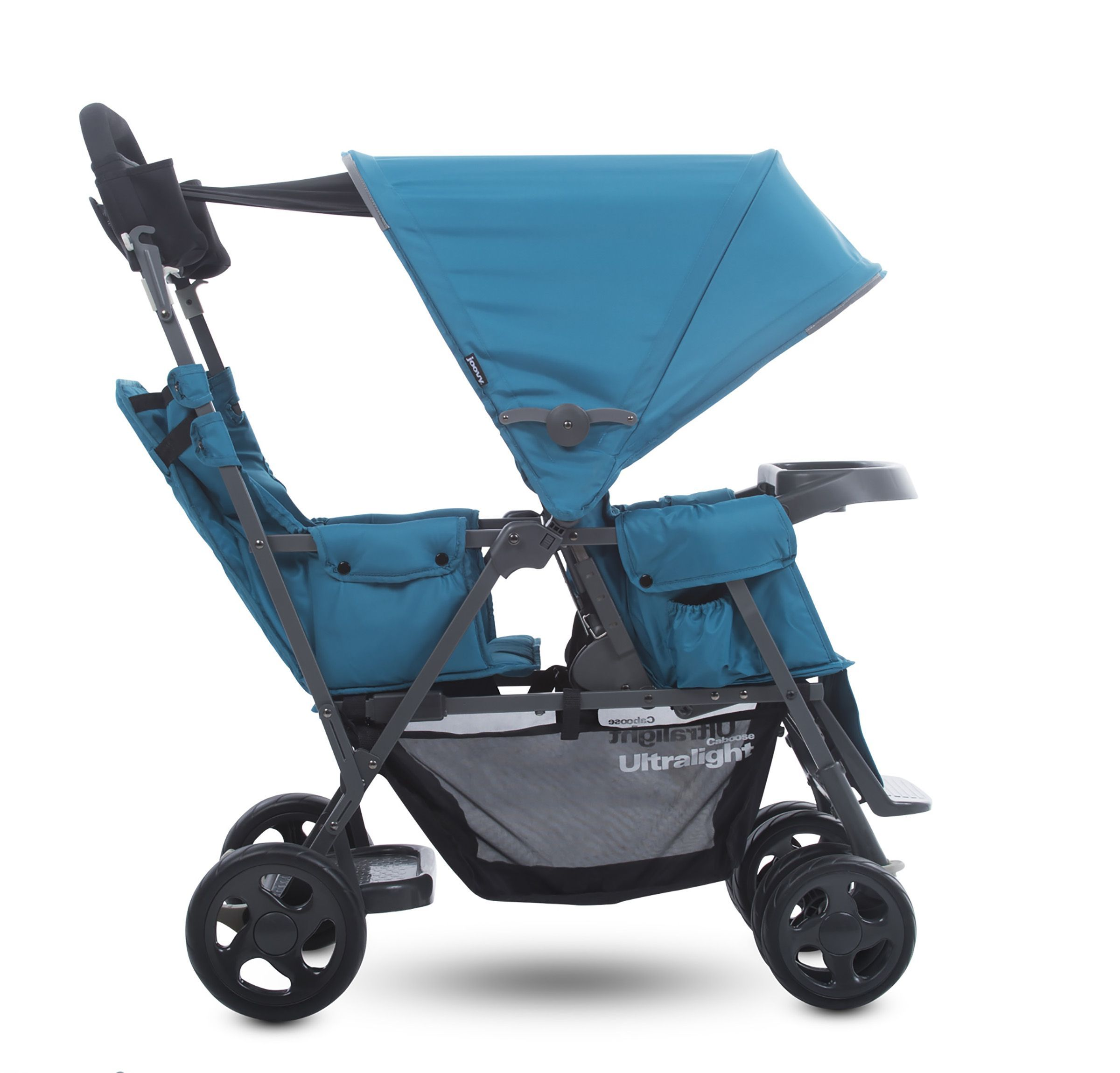 Caboose Ultralight Sit and Stand Stroller Double
