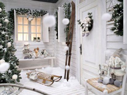Decoración navideña para tu casa Decoración navideña, Navidad y - decoracion navidea para exteriores de casas