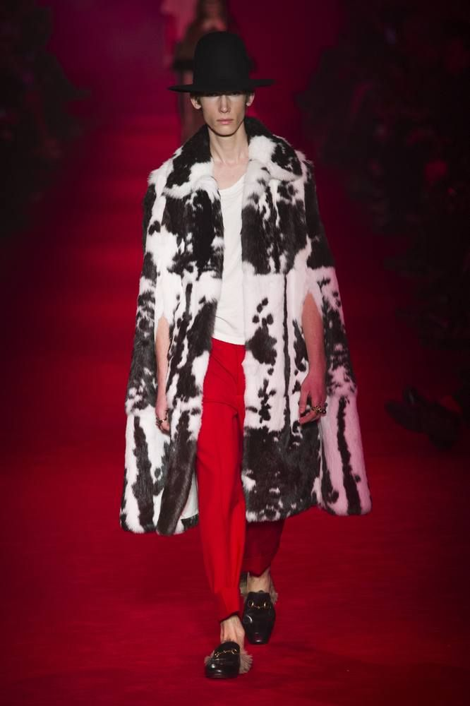 Male Fashion Trends: Gucci Fall/Winter 2016/17 - Milán Fashion Week