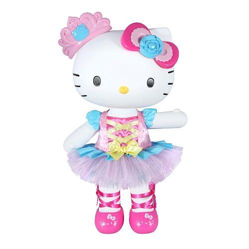 Hello kitty large doll ballerina blip toys toys r us christmas wishlist 2015 - Ballerine hello kitty ...