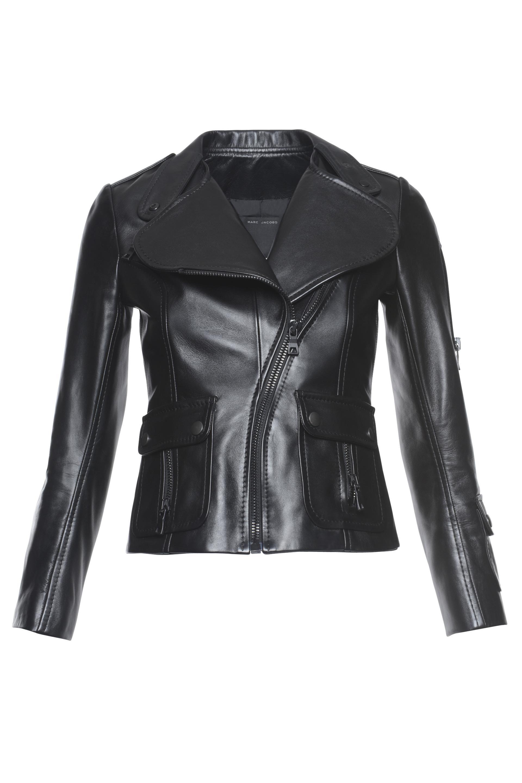 Marc Jacobs Lambskin Leather Jacket In Black Modesens Leather Jacket Lambskin Leather Jacket Jackets [ 2880 x 1920 Pixel ]