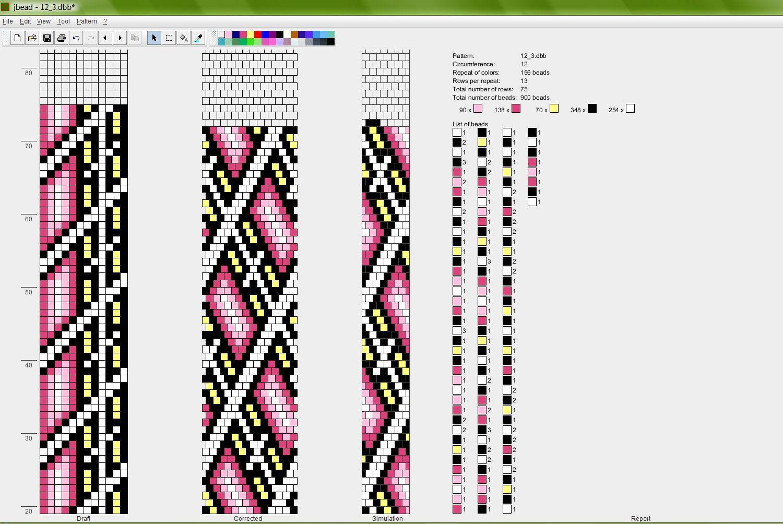 Schlauchkette 12 | Pērles | Pinterest | Häkelketten, Perlenkette und ...
