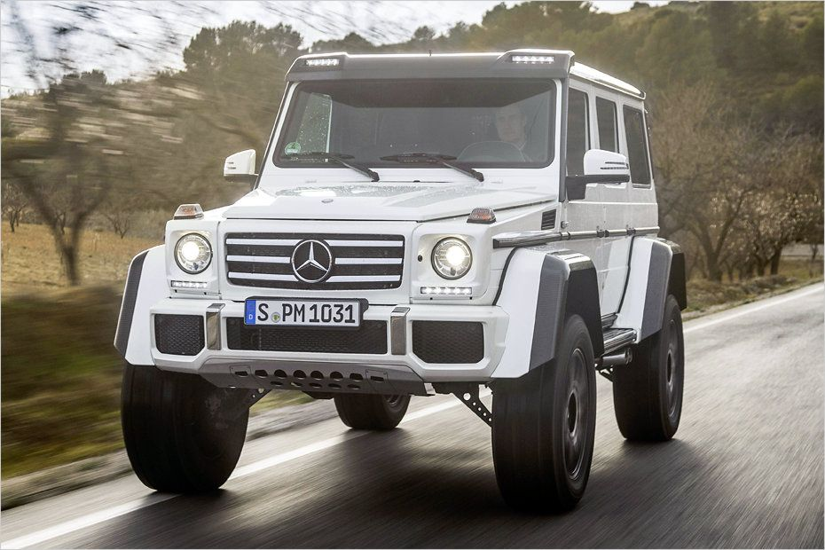 Die ultimative maybach v12 biturbo g klasse basiert auf for Mercedes benz g wagon v12