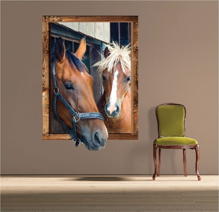 Horse Frame Wall Decal Large Wall Decals Primedecals Wall - Wall decals horses