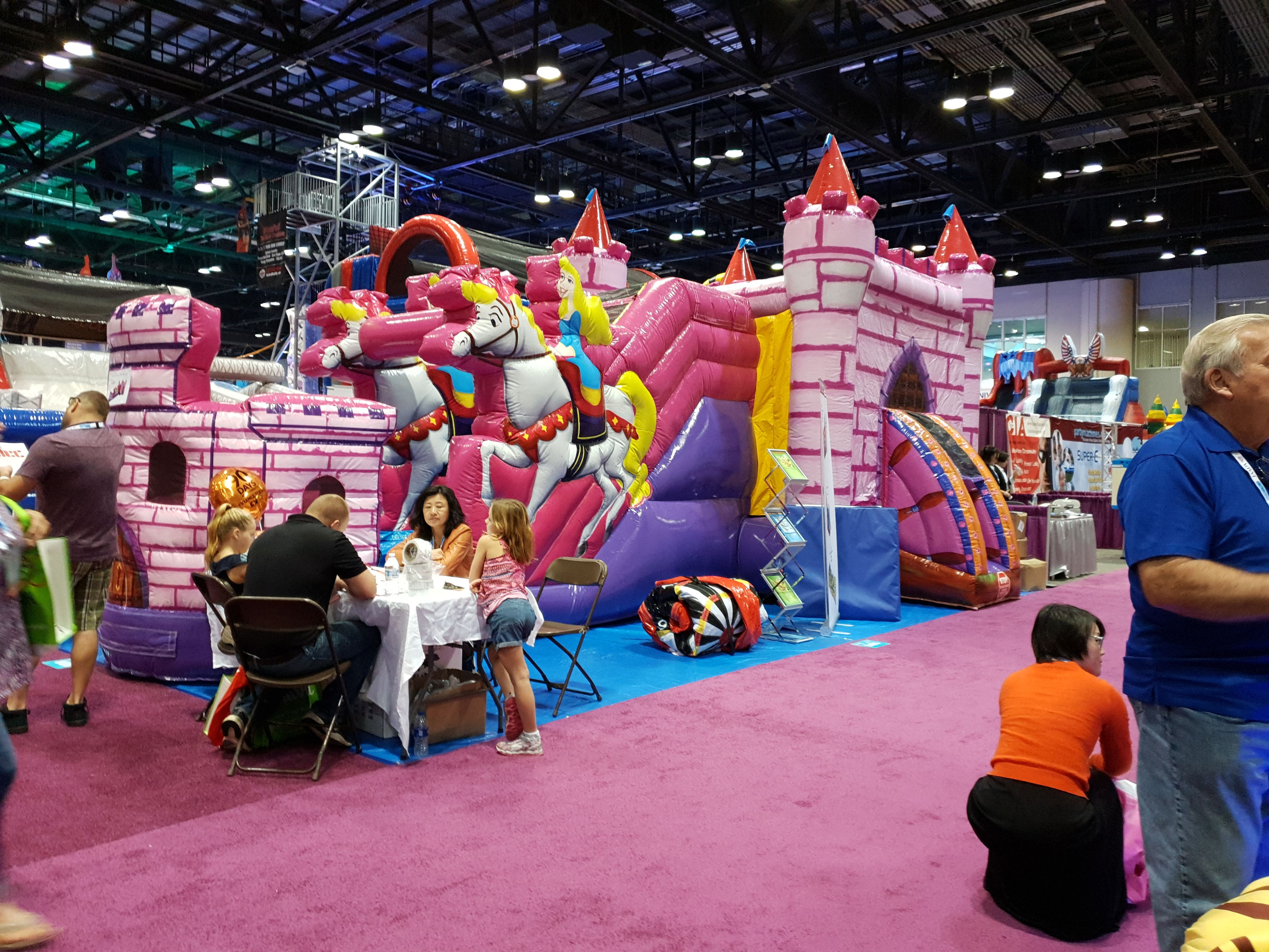 IAAPA 2018 | Bouncy castle, Inflatable rentals, Jump house