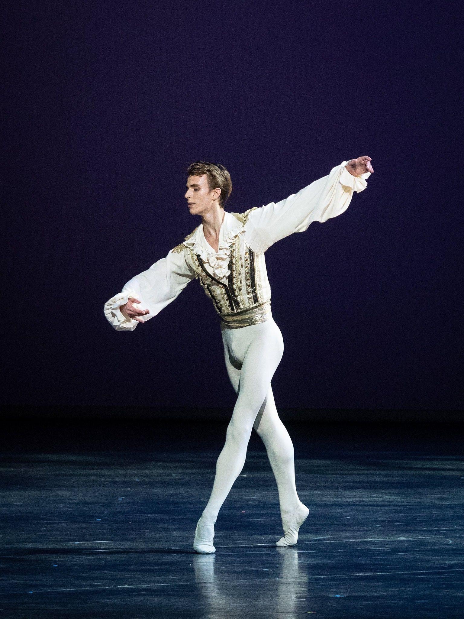 男性 バレエ ダンサー