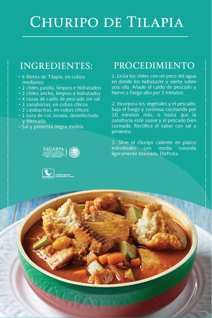 Churipo de tilapia sagarpa sagarpamx recetas for Comida para tilapia