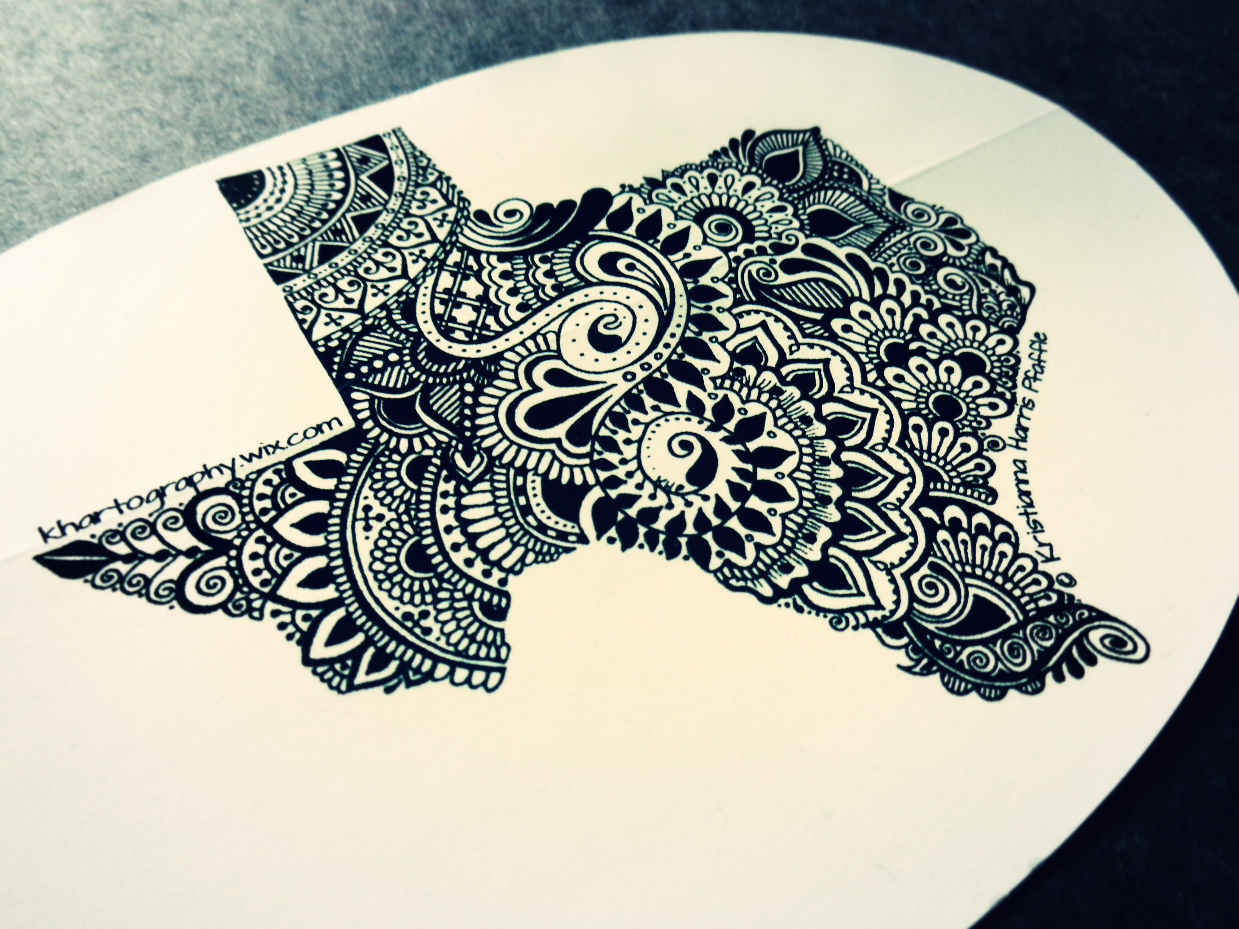 Watercolor tattoo artists in houston texas - Texas Decal Black On White