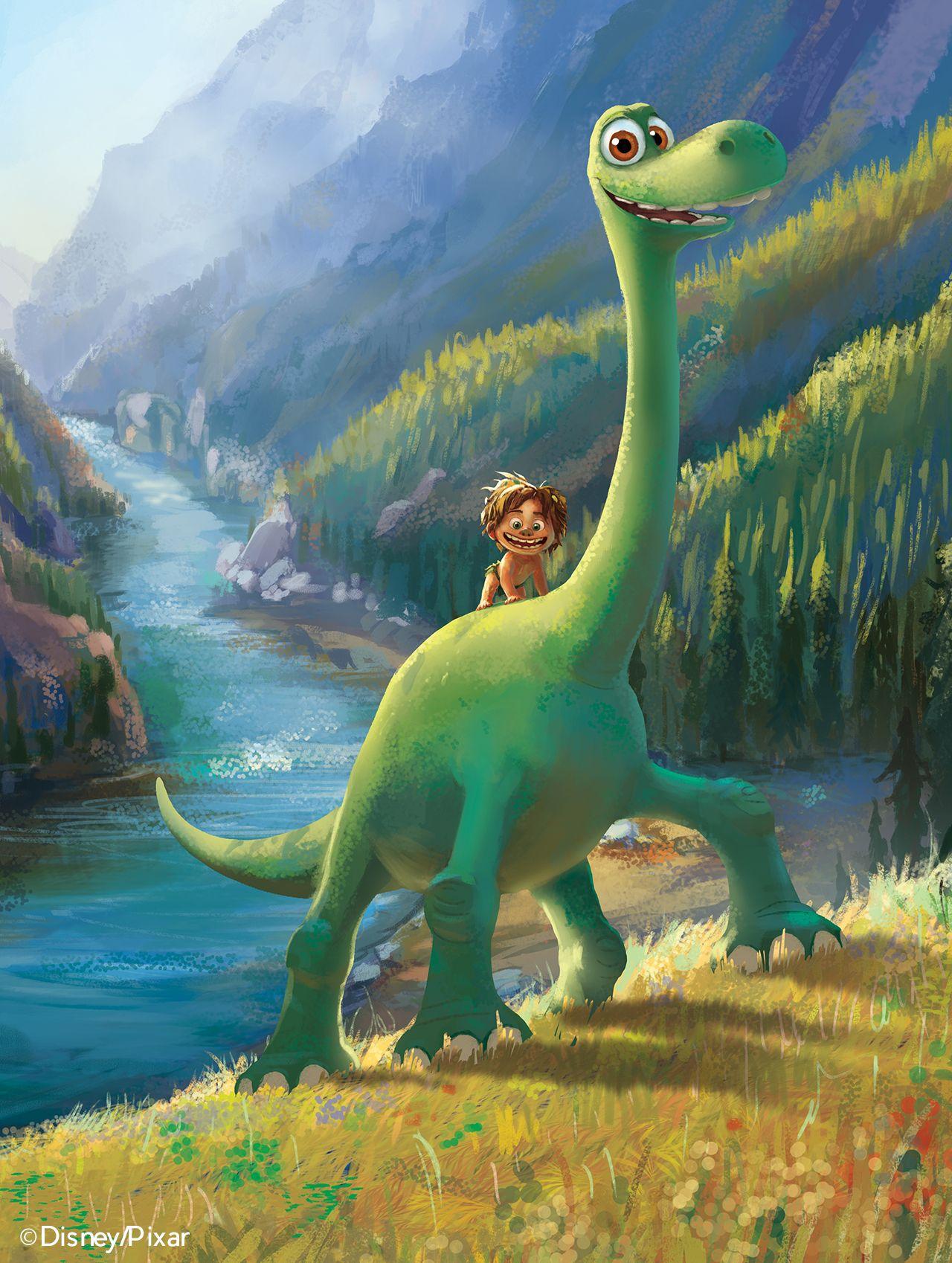 Lucapisanu Another Color Key For The Good Dinosaur Guys