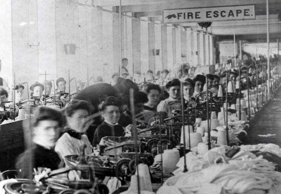 Triangle Shirtwaist Factory Fire> March 25, 1911 ... Triangle Shirtwaist Fire 1912