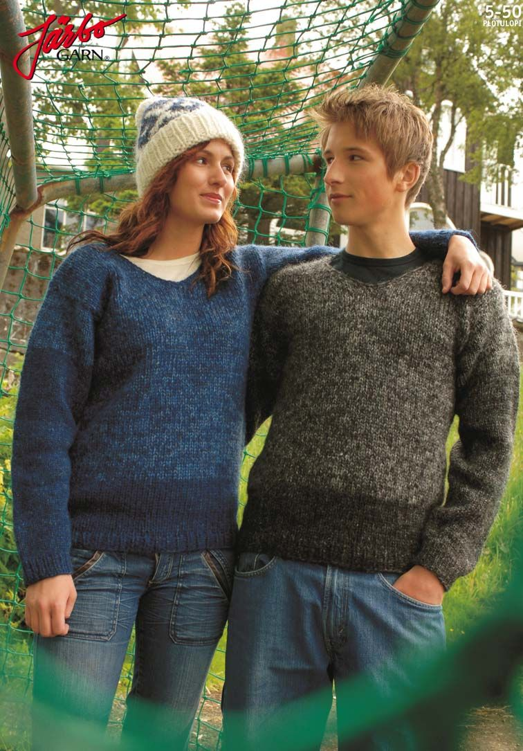 Knit a sweater for you and your friend! | Knitted for Women