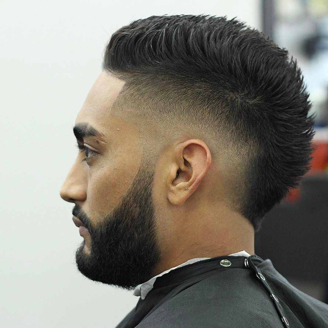 burst fade faux hawk | burst fade haircuts | short hair