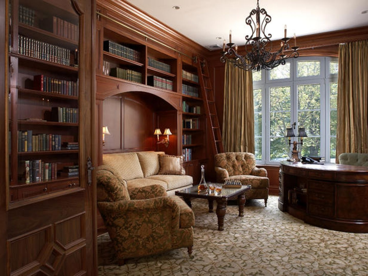 Genial Home Office Traditional Home Office Decorating Ideas Mudroom Kitchen  Victorian Medium Backyard Courts Kitchen Septic